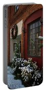 Christmas Decorations In Grants Pass Old Town  Portable Battery Charger