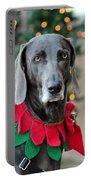 Christmas Dog Portable Battery Charger