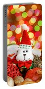 Christmas Dog Portable Battery Charger