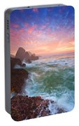 Christmas Eve Sunset Portable Battery Charger