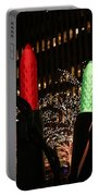 Christmas Festive In New York City Portable Battery Charger