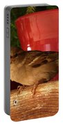 Christmas Finch Portable Battery Charger