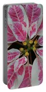 Christmas Floral Portable Battery Charger