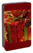 Christmas Greeting Portable Battery Charger