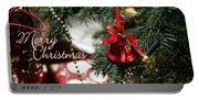 Christmas Greetings Portable Battery Charger