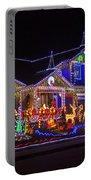 Christmas House Portable Battery Charger