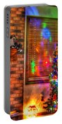 Christmas In Hdr Portable Battery Charger