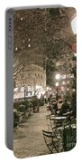 Christmas In Manhattan Portable Battery Charger