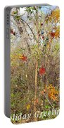 Christmas In Nature Portable Battery Charger