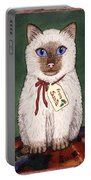 Christmas Kitten Portable Battery Charger
