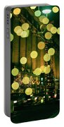 Christmas Lights In Oxford Streeet Portable Battery Charger