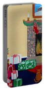 Christmas Memories Portable Battery Charger