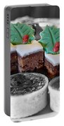Christmas Pastries Portable Battery Charger