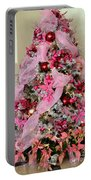 Christmas Pink Portable Battery Charger