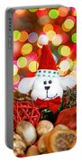 Christmas Puppy Portable Battery Charger