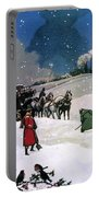 Christmas Scene Portable Battery Charger