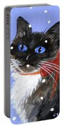 Christmas Siamese Portable Battery Charger