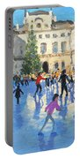 Christmas Somerset House Portable Battery Charger by Andrew Macara