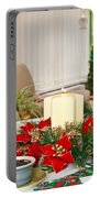 Christmas Table Portable Battery Charger by Tom Gowanlock