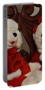 Christmas Time Bears Portable Battery Charger