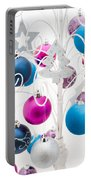 Christmas Tree Tree Portable Battery Charger by Anne Gilbert