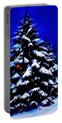 Christmas Tree With Red Ball Portable Battery Charger