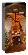 Christmas Village Decorations Portable Battery Charger