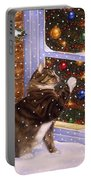 Christmas Visitor Portable Battery Charger