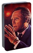 Christopher Walken Painting Portable Battery Charger