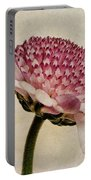 Chrysanthemum Domino Pink Portable Battery Charger