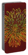 Chrysanthemum Fire Portable Battery Charger