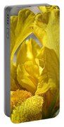 Chum Yellow Iris Portable Battery Charger