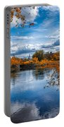 Church Across The River Portable Battery Charger