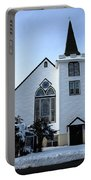 Paramus Nj - Church And Steeplechurch And Steeple Portable Battery Charger