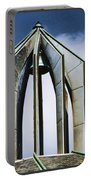 Church - Tower Bell - Luther Fine Art Portable Battery Charger