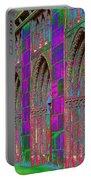 Church Doors Pop Art Portable Battery Charger