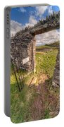 Church Gate Portable Battery Charger by Adrian Evans