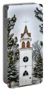 Church In The Woods Portable Battery Charger