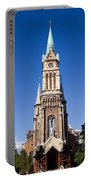 Church Of Ferencvaros In Budapest Portable Battery Charger