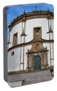 Church Of Monastery Of Serra Do Pilar In Portugal Portable Battery Charger