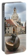 Church Of Our Lady - Dresden - Germany Portable Battery Charger