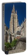 Church Of Our Lady In Bruges Portable Battery Charger