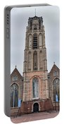 Church Of St Lawrence In Rotterdam Portable Battery Charger