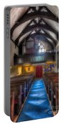 Church Of St Mary Portable Battery Charger by Adrian Evans