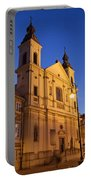 Church Of The Holy Spirit In Warsaw Portable Battery Charger