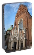 Church Of The Holy Trinity In Krakow Portable Battery Charger