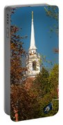 Church Of The Redeemer  From The Lexington Battlefield Portable Battery Charger