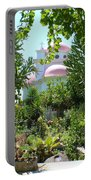 Church Of The Seven Apostles In Capernaum Israel Portable Battery Charger