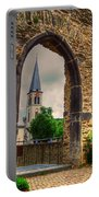 Church Ruins In Boppard Germany Portable Battery Charger