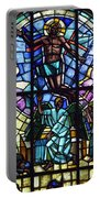 Church Window Portable Battery Charger by Tommytechno Sweden